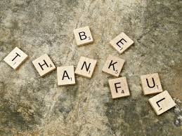 Blog - Be Thankful